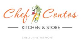 Chef Contos Logo Vermont Artisan Village