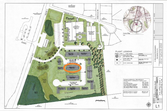 site map with bldg 4